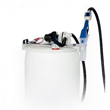 Unidade de Abastecimento Básica 220V 30LPM Capacidade 200 Litros com Medidor Digital