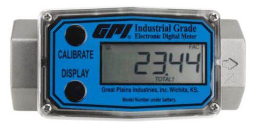 """Medidor Digital em Inox com Saída de 2"""" Vazão de 760LPM - 2194 - GPI"""