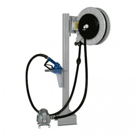 Unidade de Transferência Pneumática à Granel 50LPM com Bico Automático e Carretel