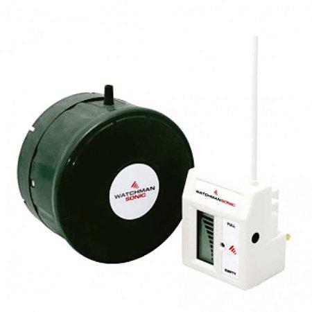 Sensor Ultrassônico de Nível Alarme e Vazamentos 2Pol com 200M de Visão