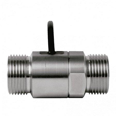 Medidor de Pulso para Arla 32 40LPM Entrada e saída 1 Polegada