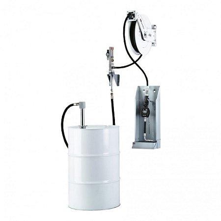 Unidade de Abastecimento Medidor Digital Carretel 15M Mang 1-2Pol Adp Parede 35LPM