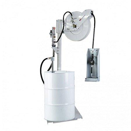 Unidade de Abastecimento Medidor Digital Carretel 15M Mang 1-2Pol Solo 35LPM