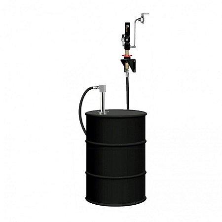 Unidade de Abastecimento com Válvula de Controle Manual para 10M de Mangueira 1-2Pol