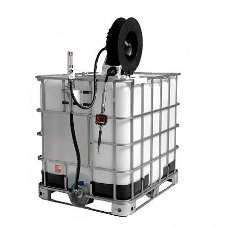 Unidade de Abastecimento Med Dig Carretel 10M Mang 1-2Pol IBC 1000LT 35LPM