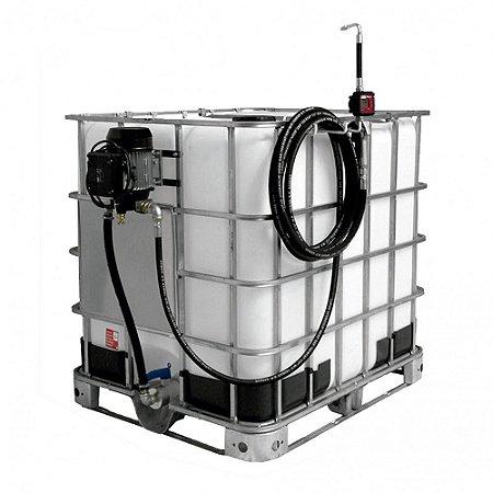 Unidade de Abastecimento Eletrica 220V  Med Dig 10M Mang 1-2Pol IBC 1000LT 25LPM