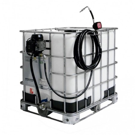 Unidade de Abastecimento Eletrica 220V Med Mec 10M Mang 1-2Pol IBC 1000LT 25LPM