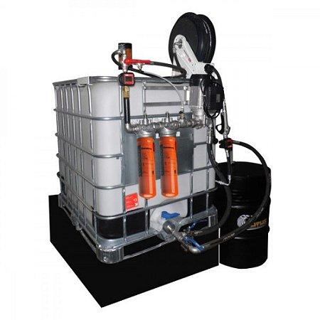 Unidade de Filtragem Elétrica 1000L com 2 Elementos Filtrantes