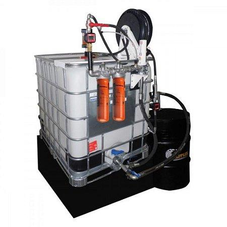 Unidade de Filtragem Pneumática Cap 1000L com 2 Elementos Filtrantes