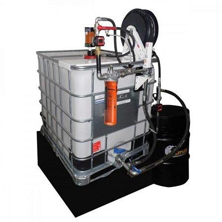 Unidade de Filtragem Pneumática 1000L com 1 Elemento Filtrante