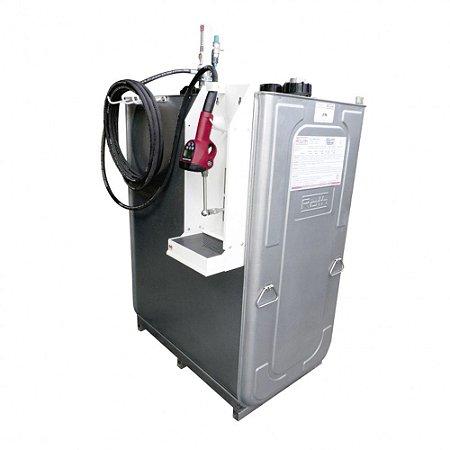 Unidade de Abastecimento Pneumática SAE 90 Cap 1000L 35LPM Med Dig Programável