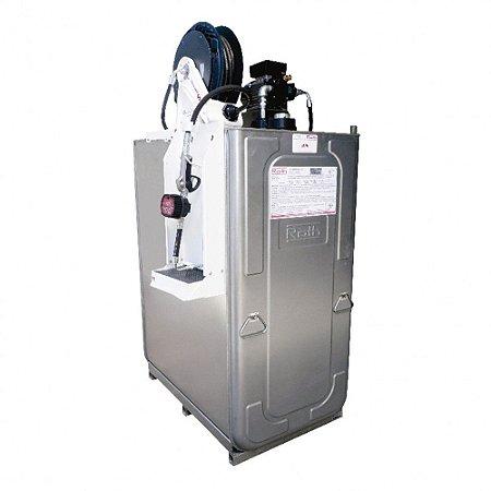 Unidade de Abastecimento Elétrica SAE 90 220V C 1000L 25LPM Med Mecânico com Carretel