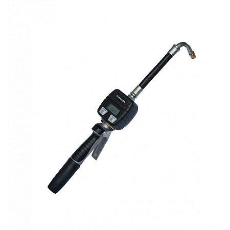 Medidor Digital com Gatilho para Óleo Lubrificante 30LPM 1-2Pol BSP
