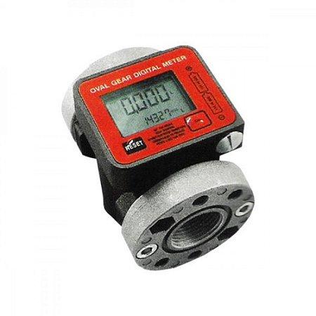 Medidor Digital para Óleo Lubrificante Vazão de 100LPM 1 Polegadas BSP