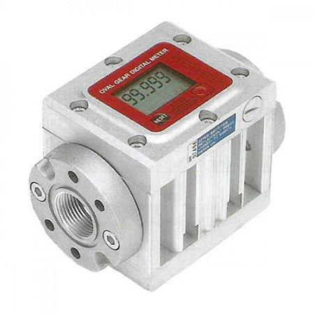 Medidor Digital para Óleo Lubrificante e Diesel Vazão de 150LPM 1-1-2 Polegadas BSP