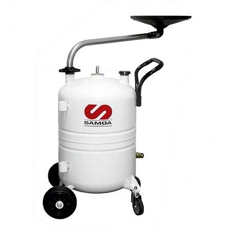 Coletor de Óleo Pressurizado para Motos Capacidade 70 Litros Mangueira de Descarga