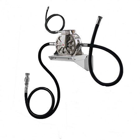 Unidade de Sucção de Óleo Pressurizada  50LPM com Mangueira Sucção-Descarte-Ar Comprimido
