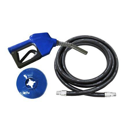 Kit Abastecimento ll  Mangueira + Bico Automático + Protetor de Respingo - Seu Posto