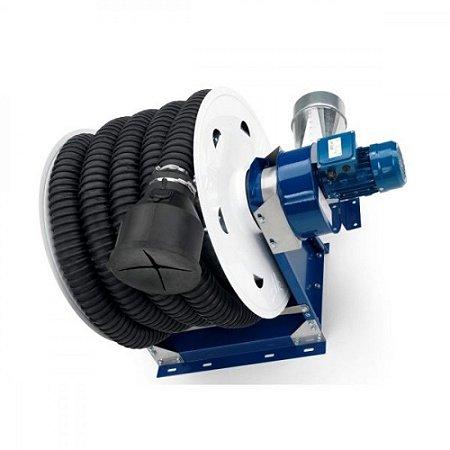Carretel Automático Com Sistema de Exaustão de Gases Para Automovéis 5MT 100 mm