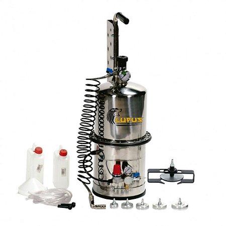Conjunto de Sucção à Vácuo para Fluídos de Freio Capacidade 10 Litros