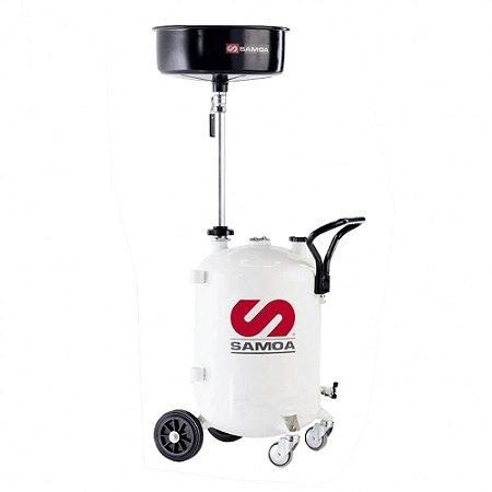 Coletor de Óleo Pressurizado para Fluído de Freio Capacidade 70 Litros Mangueira 1-5 Metros