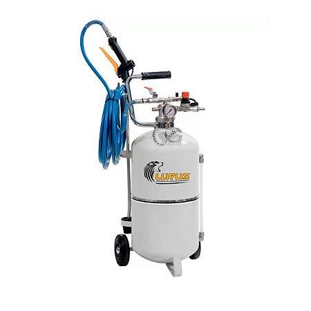 Shamporizador Pressurização por Ar Comprimido com Vedações em NBR Capacidade 24 Litros