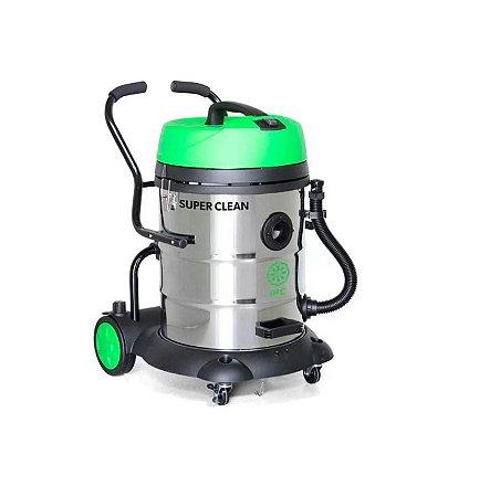Aspirador Profissional para Sólidos e Líquidos Super Clean 1200W 60L