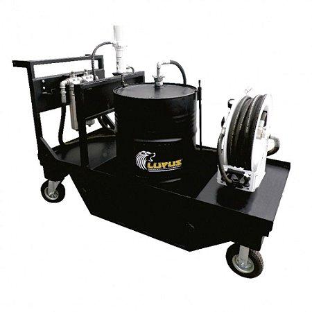 Unidade Pneumática Avançada de Filtragem e Abastecimento Cap 200L ISO 220 45LPM