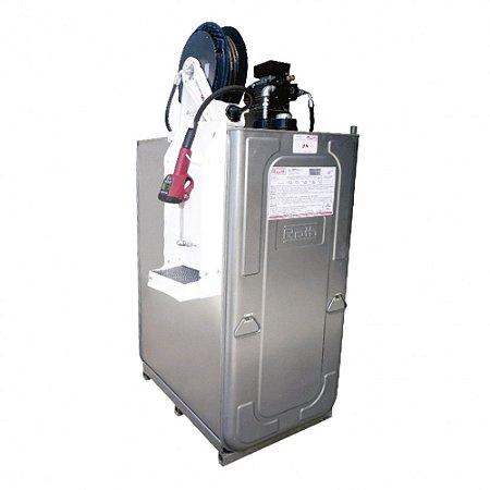 Unidade de Abastecimento Elétrica SAE 90 220V 1000L 25LPM Med Digital Programável com Carretel