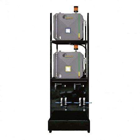 Sistema de Armazenamento Transferência e Filtragem Standard ISO 460 02 Reserv Metal