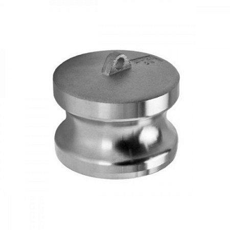 "Tampa Para Adaptador Camlock Em Alumínio Tipo DP 1.1/2"""