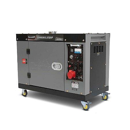 Gerador de Energia a Diesel TDG 8500 SLEXP 7 kva Silenciado Monofásico