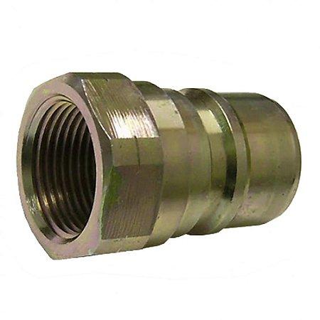 Conector com Válvula Rosca 3-4Pol Fêmea