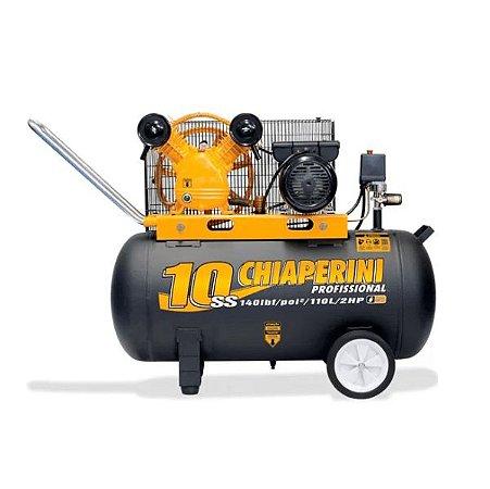 Compressor de Ar 140 PSI 10/110 Litros Bivolt - CHIAPERINI