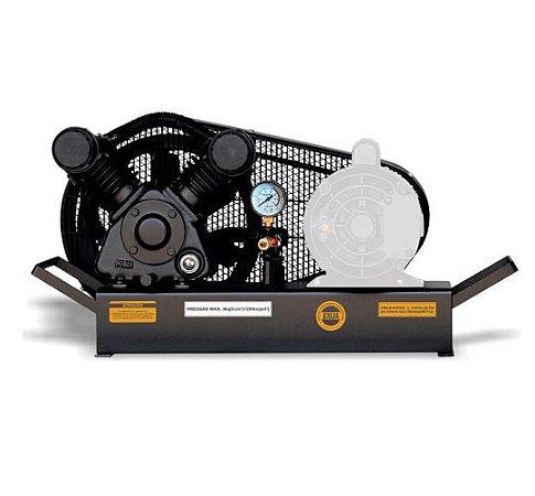 Compressor de Ar Baixa Pressão 10 Pés Sobre Base sem Motor - CHIAPERINI