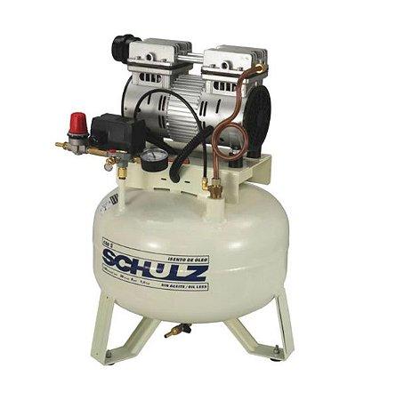 Compressor de Ar Odontológico Silencioso 5PCM 29 Litros - SCHULZ