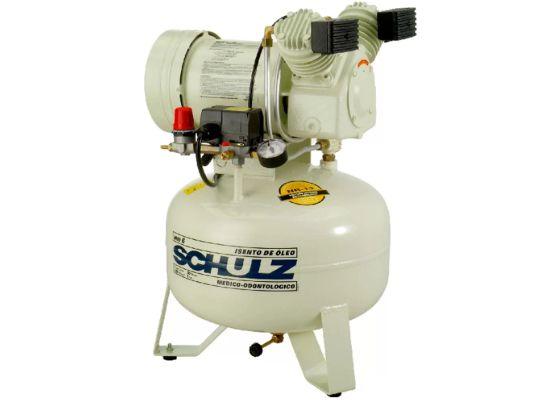 Compressor de Ar Odontológico Silencioso 6PCM 29 Litros MSV 6/30 - SCHULZ