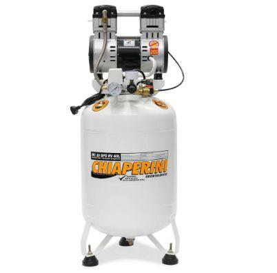 Motocompressor Odontológico 2HP 10 Pés 60 Litros Isento de Óleo 220V - CHIAPERINI
