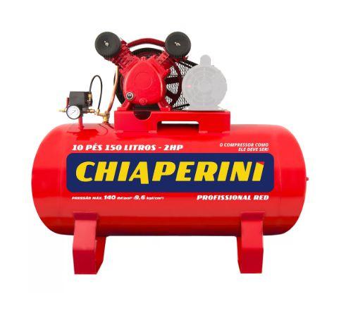 Compressor de Ar Média Pressão Red 10Pés 150 Litros sem Motor - CHIAPERINI