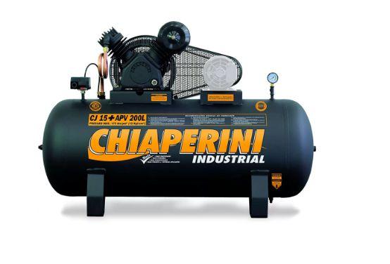 Compressor de Ar Alta Pressão CJ15+ APV 15 Pés 200L 175PSI sem Motor - CHIAPERINI