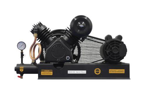 Compressor De Ar Alta Pressão Sobre Base CJ15 + APV 15 Pés 3HP 2P 175PSI 110/220V Mono - CHIAPERINI