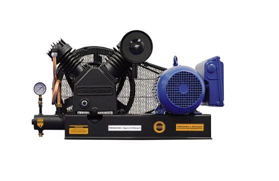 Compressor de Ar Sobre Base CJ20+ APV 20 Pés 5HP 175PSI Monofásico 220/440V - CHIAPERINI