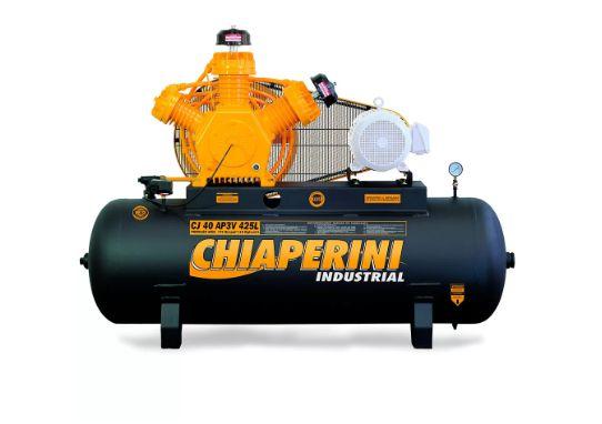 Compressor de Alta Pressão CJ40 AP3V 40 Pés 425L 175PSI sem Motor Intermitente - CHIAPERINI