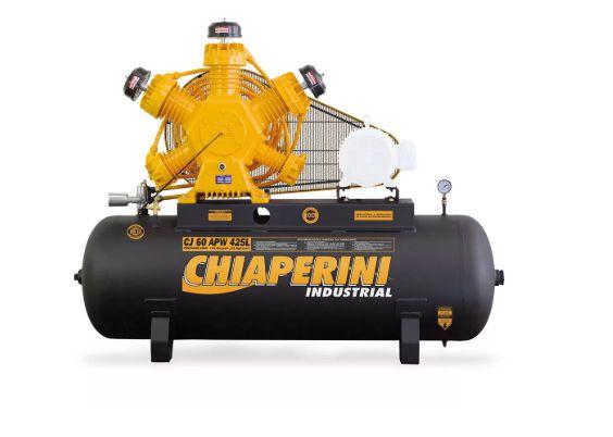 Compressor de Ar Industrial 175 Libras 60 Pés 425L sem Motor - CHIAPERINI