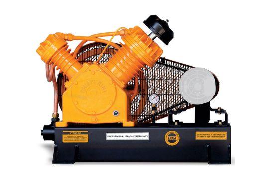 Compressor de Ar Alta Pressão Profissional Sobre Base CJ25 APV 25 Pés 175PSI sem Motor - CHIAPERINI