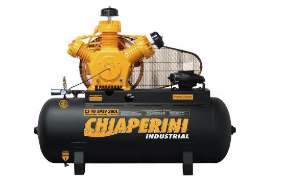 Compressor de Ar Alta Pressão Industrial 40 Pés 360L CJ40 AP3V sem Motor - CHIAPERINI