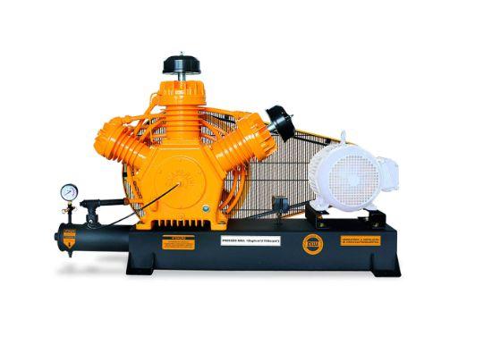 Compressor de Alta Pressão Sobre Base CJ40 AP3V 40 Pés 175PSI sem Motor Intermitente - CHIAPERINI