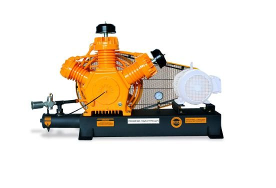 Compressor de Alta Pressão Sobre Base CJ40 AP3V 40 Pés 175PSI sem Motor - CHIAPERINI