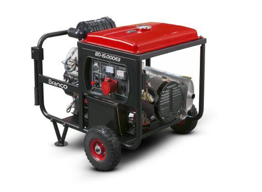 Gerador à Diesel 14KVA 220V BD15000E3G2 - BRANCO