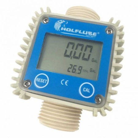 Medidor Digital de Linha em Acetal para Arla 32 - 1 Pol. BSP - 160 LPM